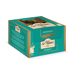Sir William's Tea PEPPERMINT. 50 szt. x 1,6 g