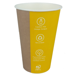 Huhtamaki kubek papierowy 300 ml SP80 Coffee-to-Go