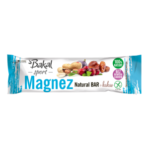 BAKAL Baton Magnez Natural Bar. 35g x 30 szt.