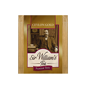Sir William's Tea CEYLON GOLD. 50 szt. x 2 g