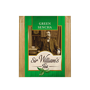 Sir William's Tea GREEN SENCHA. 50 szt. x 1,6 g