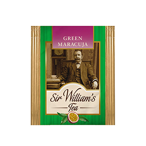 Sir William's Tea GREEN MARACUJA. 50 szt. x 1,6 g