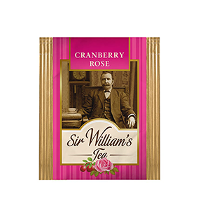 Sir William's Tea CRANBERRY ROSE. 50 szt. x 2,4 g